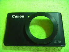 GENUINE CANON S110 FRONT CASE COVER BLACK PARTS FOR REPAIR