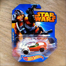 Disney STAR WARS Hot Wheels LUKE SKYWALKER #3 diecast Mattel INTL X-Wing pilot