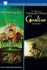 Paranorman/Coraline (DVD, 2013, 2-Disc Set, Canadian)