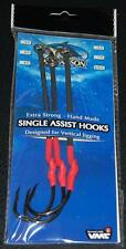 Williamson Lures Single Assist Hooks SAH-XXLL 11/0 VMC Hook 200lb Long - 3 pack
