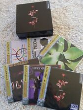 Depeche MODE-Giappone 6 CD 'S Mini LP BLU-spec cd2 SS + PROMO BOX SET vol 2 NUOVO