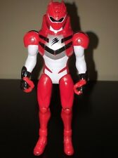 Power Rangers JUNGLE FURY Red And White Ranger Bandai 2007 Loose