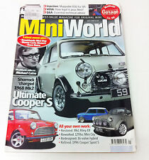 Mini World Magazine July 2010 - Mini Minor Cooper Rover Rally