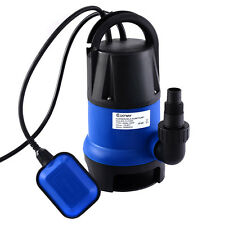 1/2HP 2000GPH Submersible Dirty Clean Water Pump Flooding Pond Swimming Poo