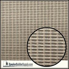 "Replacement grill cloth for Fender Black Face Amps ""AGED LOOK"" 24""x36"" size"