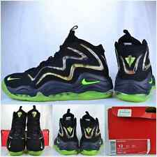 "2013' Nike Air Pippen ""Black/Flash-Lime/Anthracite"" Sz 13 Rare Camo Supreme"
