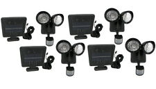4 Pack 22 LED Motion Sensor Solar Powered Security Spotlight Outdoor Flood Light
