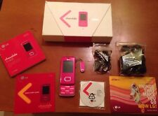 Movil Orange Lg Kg800 Chocolate Color Rosa