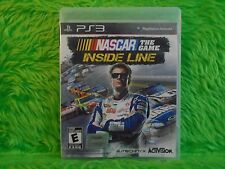 ps3 NASCAR THE GAME INSIDE LINE The Official Nascar Experience Playstation NTSC