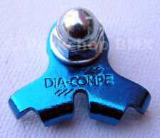 Dia-Compe 2001 bicycle cantilever U-brake center pull brake cable hanger BLUE