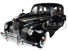 1941 PACKARD LIMOUSINE BLACK 1/18 DIECAST MODEL CAR BY SIGNATURE MODELS 18128