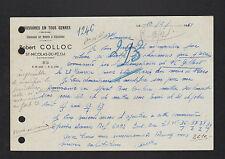 """SAINT-NICOLAS-du-PELEM (22) CHAUSSURES sur mesure & CORDONNERIE """"Robert COLLOC"""""""