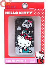 Hello Kitty Apple iPhone 4 Case Hard Case Cover Raining Bows i Phone 4S