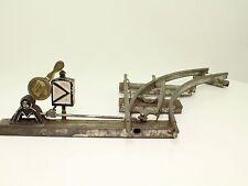 Blechspielzeug - Spur 0 antike Bing Weiche rechts voll funktionsfähig