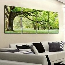 4 pcs Wall Art Tree Botanical Painting Print On Canvas Home Decor Modern oil
