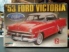 1953 Ford Victoria Model Car Kit New Sealed 1:25 Scale - Lindberg 53