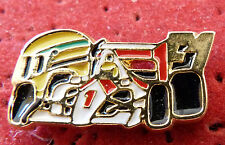 RARE PIN'S F1 FORMULA ONE MC LAREN AYRTON SENNA VERSION DORE