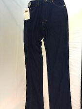 Vtg Deadstock Indigo Denim LEE RIDERS  Western High Waist Mom Jeans Pants 12 L