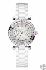 WATCH GUESS COLLECTION PRECIOUS I92000L1 CASE AND CLOCK DIAL WITH SAPPHIRES PINK