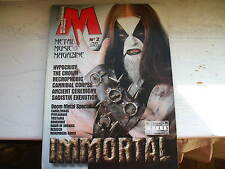 Metal Magazine 2/02 Immortal Hypocrisy Cannibal Corpse Pentagram Tristania Opeth