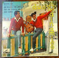 """DUO DINAMICO - """"QUSIERA SER"""" Y 3 TEMAS MAS.7 EPL 13643 SPAIN 1961 VINILO"""