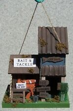 Bird House Bait and Tackle Shed NEW wood & luan plywood