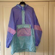 Pastel Retro Vintage Rain Mac / Windbreaker 90s
