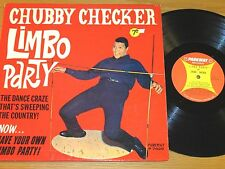 """ROCK & ROLL LP - CHUBBY CHECKER - PARKWAY 7020 - """"LIMBO PARTY"""""""