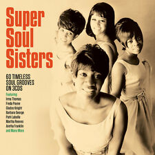 Super Soul Sisters VARIOUS ARTISTS Best Of 60 Essential Classic Songs NEW 3 CD