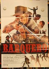 BARQUERO Poster LEE VAN CLEEF, WARREN OATES, FORREST TUCKER, KERWIN MATHEWS 1970