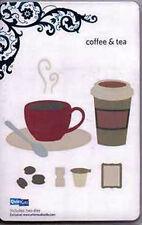 "Quickutz/Lifestyle Crafts C-0042-D-REV  ""Coffee & Tea"" DISCONTINUED CUSTOM"
