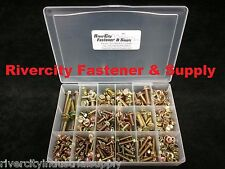 Small Head Flange Nut & Bolt Screw Assortment Kit M6, M8, M10 Metric Grade 10.9