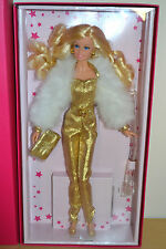 2015 gold label superstar forever collection golden dream barbie-neuf