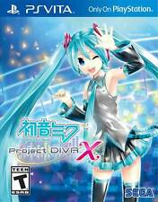 Hatsune Miku Project Diva X PS Vita 2016 Game English Brand New Sealed