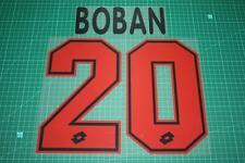 AC Milan 95/98 #20 BOBAN Awaykit Nameset Printing