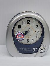 RHYTHM ALARM CLOCK -BASEBALL ALARM - WITH FOUR MELODIES 4RM759WD19