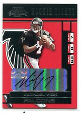 2001 PLAYOFF CONTENDERS MICHAEL VICK ROOKIE TICKET AUTO ROOKIE /327