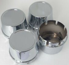 New 4x Cup 70 mm Wheel Center Cover Hub Caps Chrome Finished Free Enkei Sticker