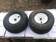 Craftsman riding mower  917.256544 front wheels / tires ( one tire leaks )