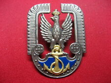 Poland Polish NAVY Aviation Cap badge