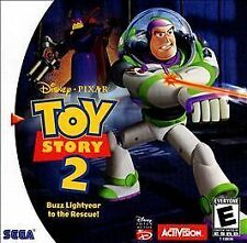 Toy Story 2: Buzz Lightyear to the Rescue Sega Dreamcast Game Complete CIB