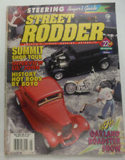 Street Rodder Magazine Summit Shop Tour Lil' John May 1994 060515R2