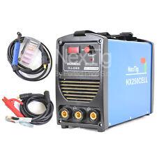 SALDATRICE INVERTER MMA E TIG LIFT  con elettrodo cellulosico NX250CELL 250 AMP