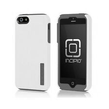 Incipio Faxion Hybrid Case For iPhone 5 and iPhone 5S - White/Charcoal Gray
