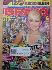 BRAVO 5 - 23.1. 2013  (1) Miley Justin Bieber Luca Hänni Britney +12 Türschilder