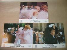 """LOT 3 PHOTOS DU FILM """"LES AVENTURES DE RABBI JACOB"""" / DE FUNES / 6 / TRES B ETAT"""