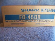 Genuine Sharp Branded FO-45DR Black Drum Cartridge - New Old Stock