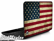 LidStyles AMERICAN FLAG Vinyl Laptop Cover Skin Decal fits HP PAVILION G6
