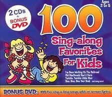 100 Sing-Along Favorites for Kids, Various Artists, Very Good