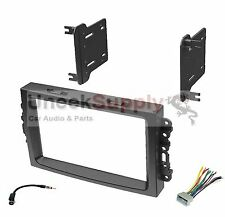 2004 2005 2006 2007 Dodge Durango Magnum Ram Pickup Double Din Dash Kit Radio